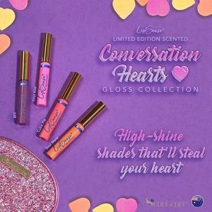 Scented Conversation Hearts lipgloss
